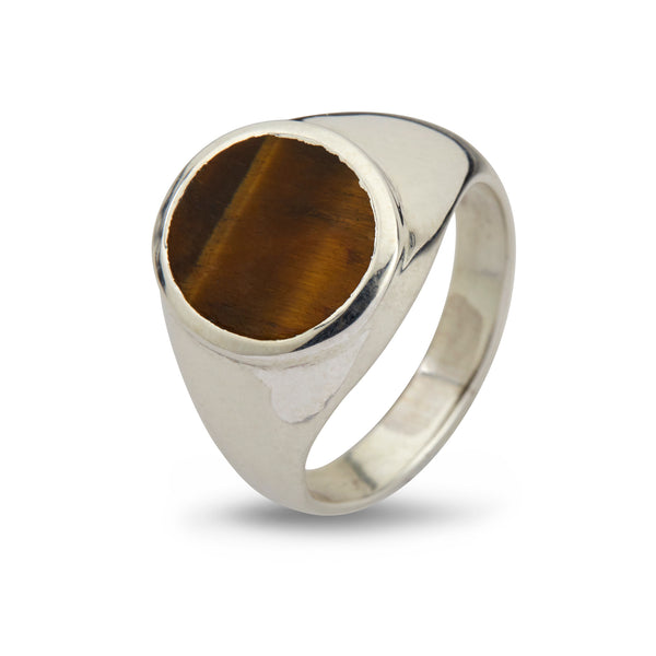 Oval Tiger's Eye - By Birdie