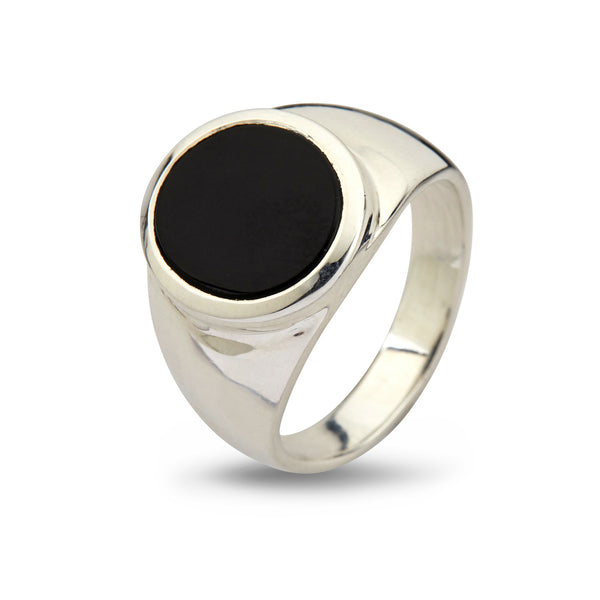 Oval Black Onyx - By Birdie