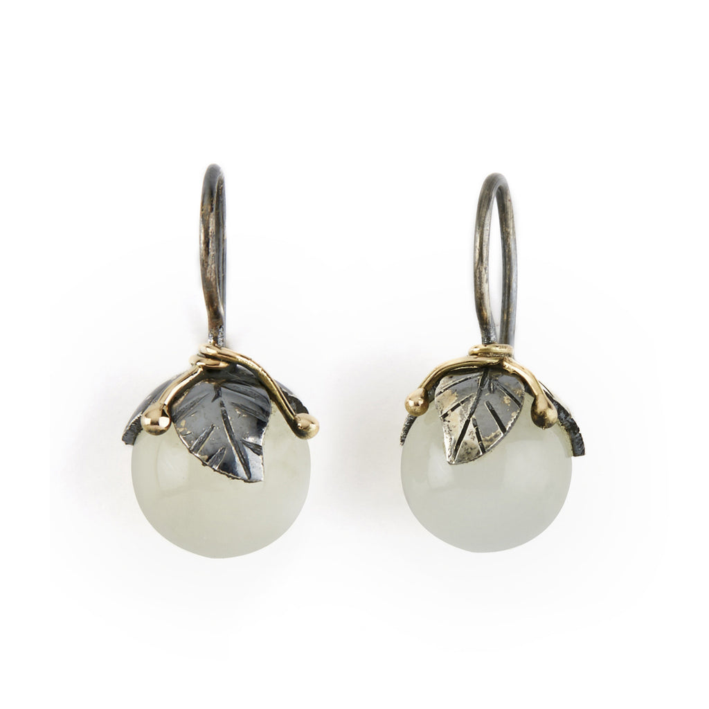 Urban Leaf Drops Grey Moonstone - By Birdie