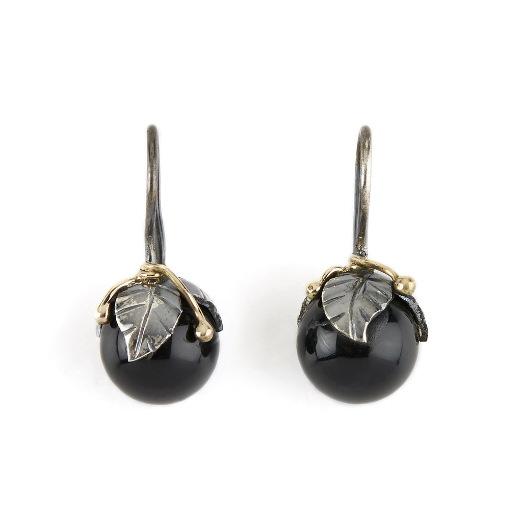 Urban Leaf Drops Black Onyx - By Birdie
