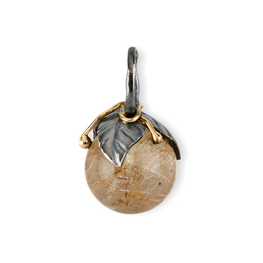 Urban Leaf Drop Golden Rutile 12mm - By Birdie