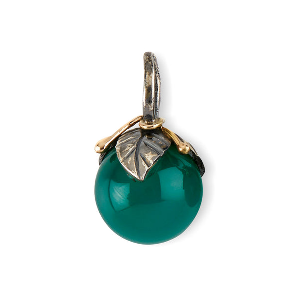 Urban Leaf Drop Green Onyx 12mm - By Birdie