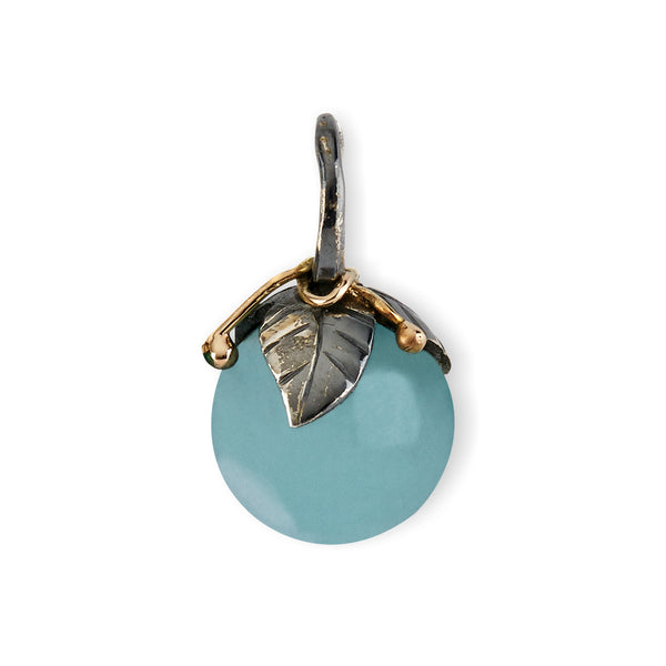 Urban Leaf Drop Aquamarine 12mm - By Birdie