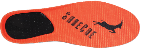 ShoeCue textured insole run better