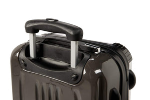 The Personalised Marble Suitcase - Black Edition