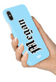 The Personalised Tattoo Case - Blue Edition