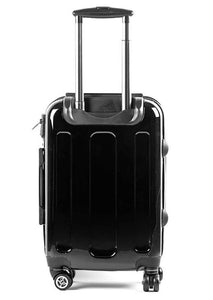 The Personalised Initials Suitcase - Black & White Edition