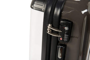 The Personalised Monogram Suitcase - Nude Edition