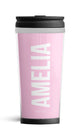 Personalised Travel Mug - Baby Pink Edition