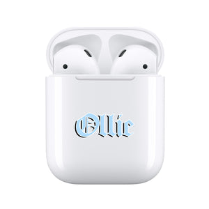 Blue Tattoo - Personalised Wireless Earphones / Pods