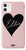The Personalised Dusky Pink Heart Case