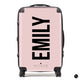The Personalised Dusky Pink Name Suitcase