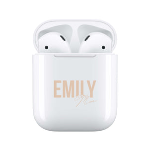 Nude Signature - Personalised Wireless Earphones / Pods