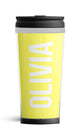 Personalised Travel Mug - Lemon Edition