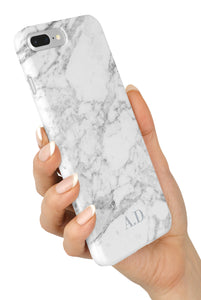 The Personalised Initials Marble Case