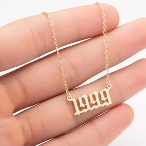 The Personalised Year Necklace
