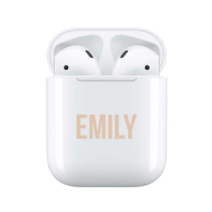 Statement Nude - Personalised Wireless Earphones / Pods