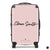 The Personalised Handwritten Suitcase - Dusky Pink Edition