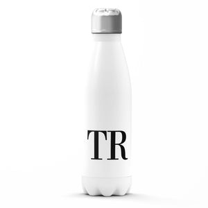 The Personalised Initials Bottle - Black Edition