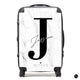 The Personalised Marble Suitcase - Platinum Edition