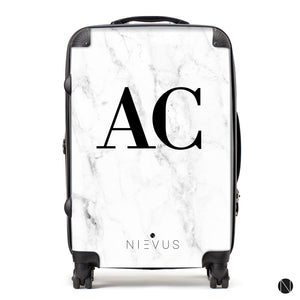 The Personalised Marble Suitcase