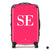 The Personalised Initials Suitcase - Hot Pink Edition