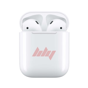 Dusky Pink Vibe - Personalised Wireless Earphones / Pods