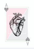 Avant Debut | Ace of Hearts by Barlena Digital Art and Art Prints