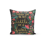 Cat Coquillette Throw Pillow She Is Fierce
