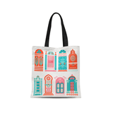 Cat Coquillette Tote Bag Moroccan Doors