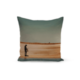 Dijah Abreu Junior Throw Pillow The Fisherman