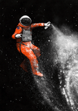 Avant Debut | Astronaut by Florent Bodart Digital Art and Art Prints