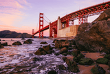 Avant Debut | Golden Gate by Gene Horecka Digital Art and Art Prints