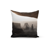 Mikey Ambrose Throw Pillow Mesa Arch