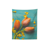 Olivia St. Claire Tapestry Orange Tulips