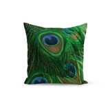 Olivia St. Claire Throw Pillow Peacock