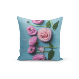 Olivia St. Claire Throw Pillow Pink Petals