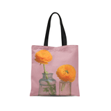 Olivia St. Claire Tote Bag Yellow Flowers