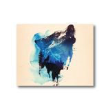 Avant Debut | Alone As A Wolf by Robert Farkas Digital Art and Art Prints