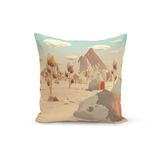 Tim Smits Throw Pillow Winter Wonderland
