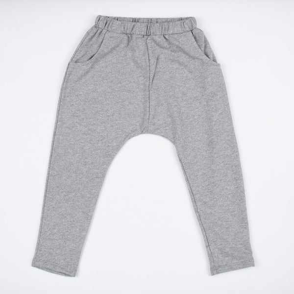 kids grey jogger sweats