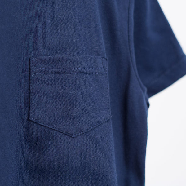 short sleeved pocket tee