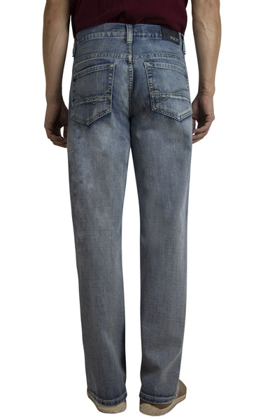 Bailey's Point Men's Fashion Bootcut Jeans Light Wash