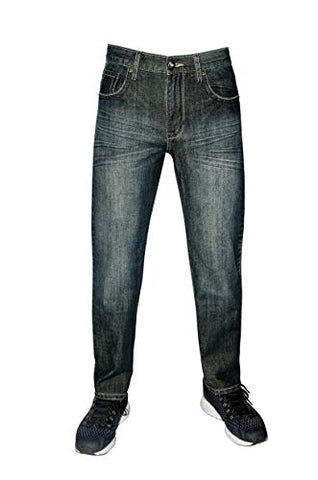 Flypaper Boy's Bootcut Fashion Jeans Regular Fit Dark Wash