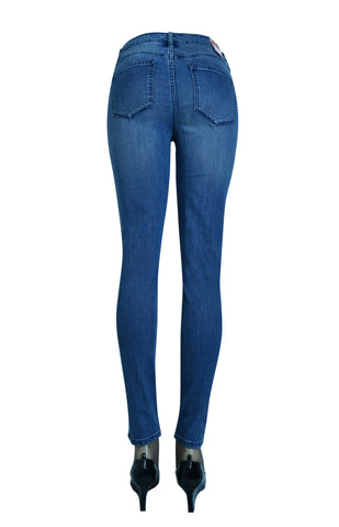 Firefly Women's Mid Rise Skinny Petite Jeans