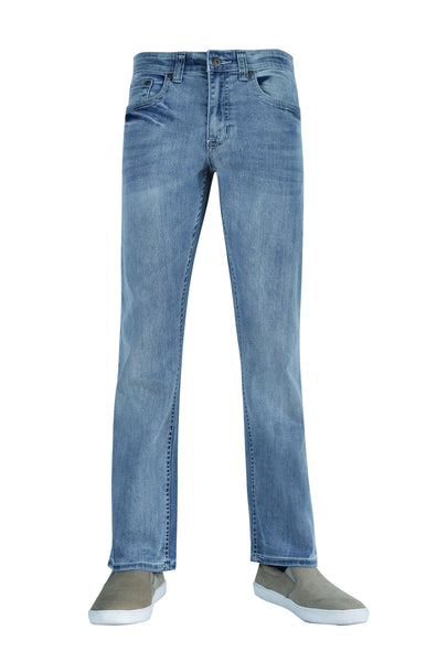 Flypaper Men's Bootcut Stretch Fashion Jeans Regular Fit