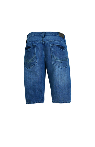 Flypaper Men's Jeans Denim Shorts Medium Wash