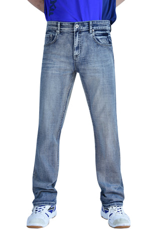 Flypaper Boy's Straight Stretch Jeans Regular Fit Light Wash