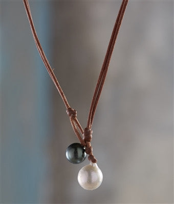 Carter Tahitian and Freshwater Pearl Necklace