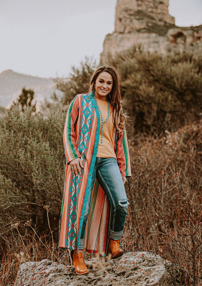 The New Mexico Serape Duster